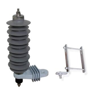 metal-oxide polymer 12KV 33KV surge types of lightning arrester
