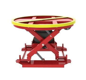 Middle-Level 200kgs Stationary Palletpal Lift Table Lever Loader