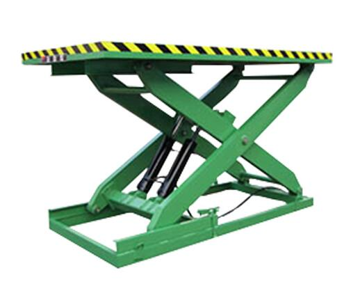 SHYTGER Double Row Hydraulic Stationary Scissor Lift Platform