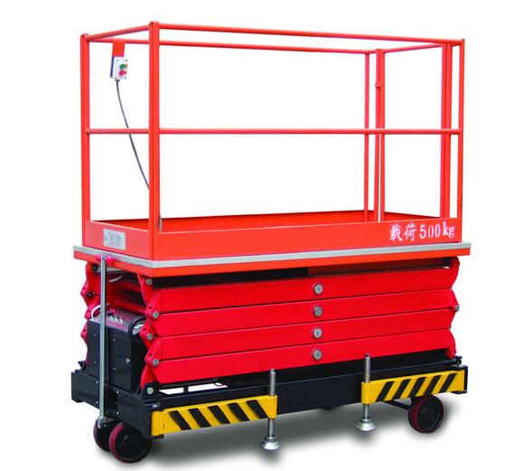 HYTGER SJY0.5 Series 500kg Scissor Type Aerial Working Platform