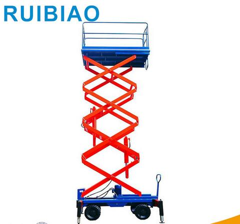 SJY0.3-9 9 meter Light Level Hydraulic Mobile Scissor Lift Table