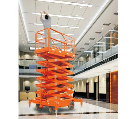 JCPTG9 Series Weight Level DC 9m Semi-Electric Scissor Lift