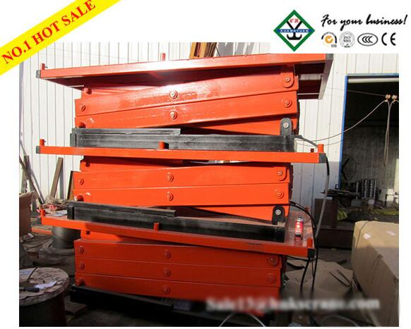 SJG Special Weight Level Scissor Lift Platform Hydraulic Lifting Platform