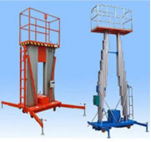 Middle-Level Double Mast Alloy Aluminum Hydraulic Work Platform