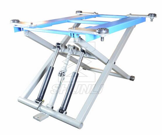Double Cylinder Low and MID-Rise Scissor Lifts with European Type