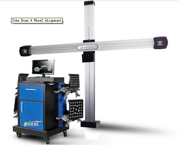 Electronic 3D Four Wheel Alignment