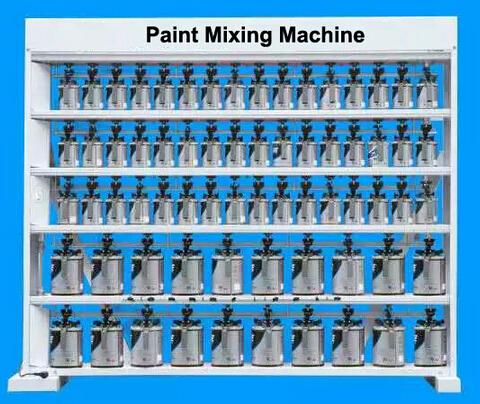 Low Noise Car Paint Mixing Machine