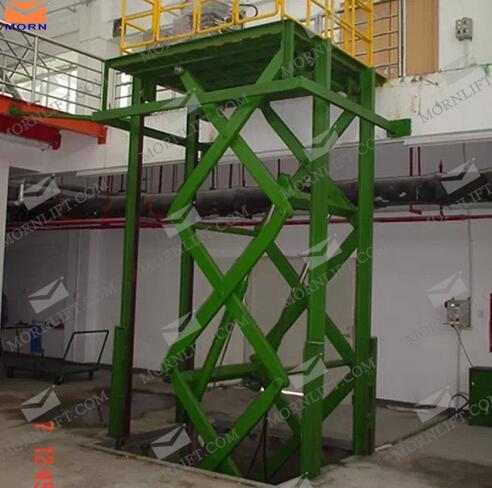 SSL2-3.5 Series Rust-Proof 2 Ton Stationary Hydraulic Scissor Lift
