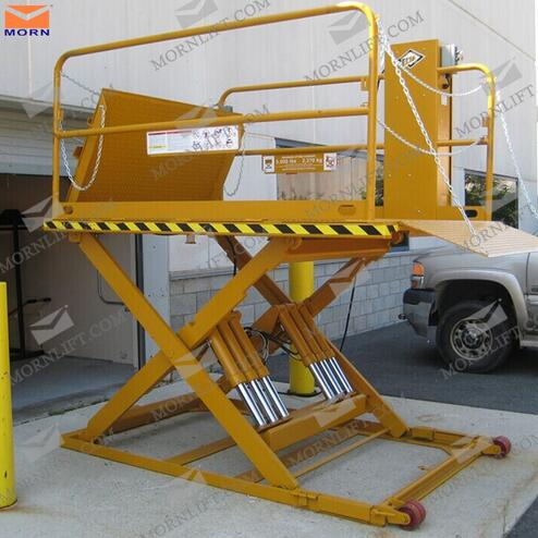 Explosion-Proof Special Weight Level 2 Ton Hydraulic Scissor Lift Table