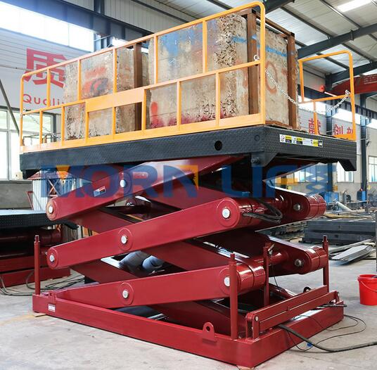 SSL10-1.5 Explosion-ProofElectric Hydraulic Scissor Lift Table