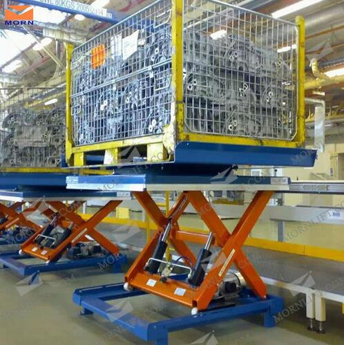 SSL1-3 Series Hydraulic Aerial Scissors Lift with Load 1000kg