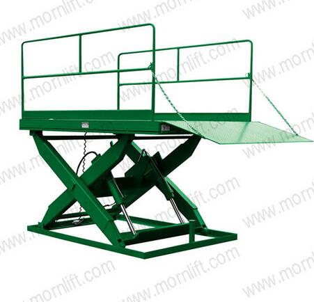 SSL1.5-1 Series Stationary 1m Height Hydraulic Scissor Dock Lift