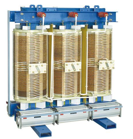 SG(B)10 Non-encapsulated Coil Three-phase Dry Type Transformer