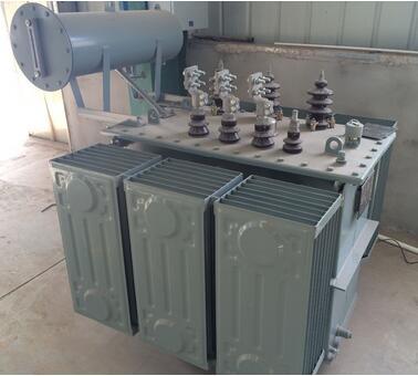 Low loss 1500kva full copper winding oil immersed transformer