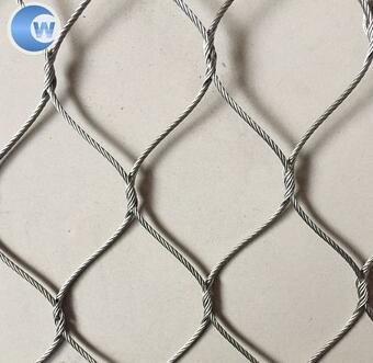 304 stainless steel wire woven mesh rope net