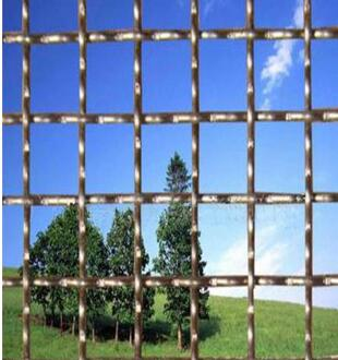 stainless steel crimped wire mesh/crimped woven mesh