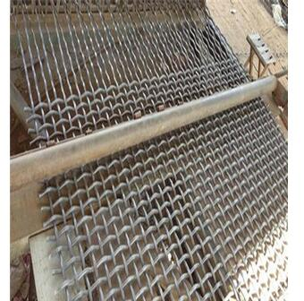 High Manganese Stainless Steel Woven Crimped Wire Mesh Manufacture