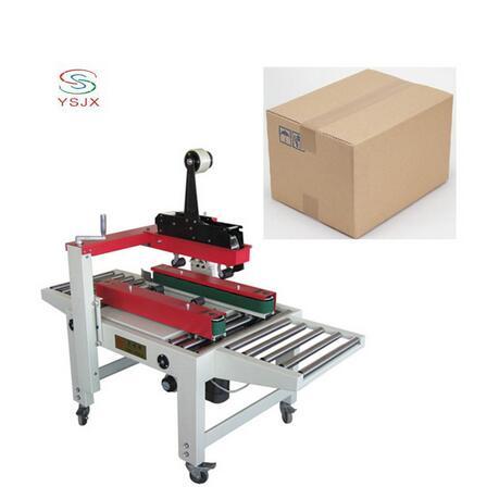 automatic tape carton sealing machine match strapping machine