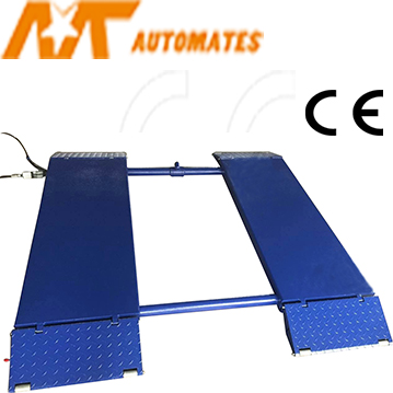 3.0T Low Profile Scissor Lift, Surface mounting Car Lift with CE MT-W3000