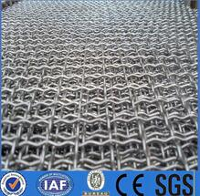304 crimped wire mesh price / stainless steel crimped woven