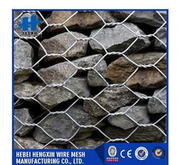 Custom cheap reusable factory high quality stone cage woven wire mesh