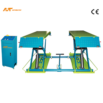 High quality scissor lift with two hydraulic from Yingkou Automate