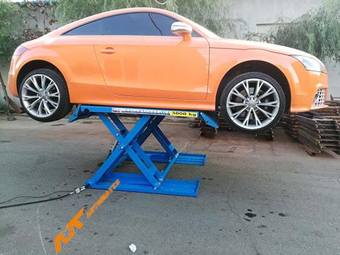 Scissor type portable car lift supplier Yingkou Automate