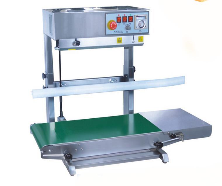 Continuous Band Sealer Vertical Continuous Bag Sealing Machine