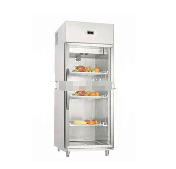 CE Certification and Display Cooler Type commercial supermarket freezer showcase