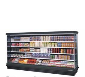1000L to 3000L commercial display freezer case