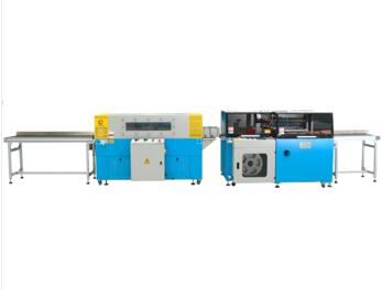 380V/50HZ POF film full automatic teflon shrink wrapping machine