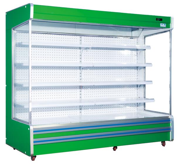 commercial supermarket chilled display remote multideck refrigerated cabinets