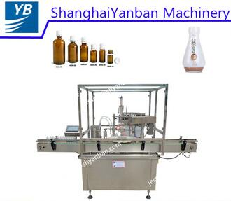 YB-YG4 500kg automatic 4 head filling machine for liquid