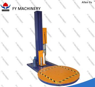 professional horizontal stretch wrapping pallet shrink wrapping machine