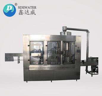 CGF18-18-6 6000BPH bottle water filling machine production line
