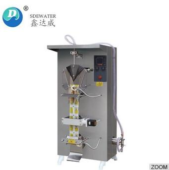 sachet pouch packing plastic bag water juice liquid filling and sealing machine