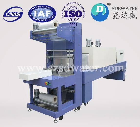 SD-S250 Series Semi-Automatic film shrink wrapping machine