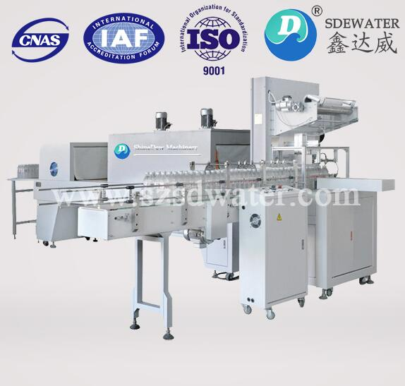 SD-150A PLC control Full Automatic Shrink Wrapping Machine