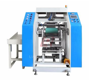 LRP-300 Series high-speed automatic pvc cling film rewinding machine