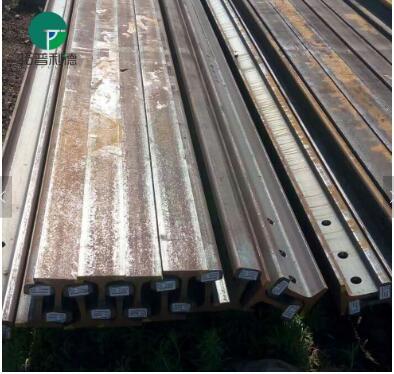 High load steel railroad rail for foundry industry