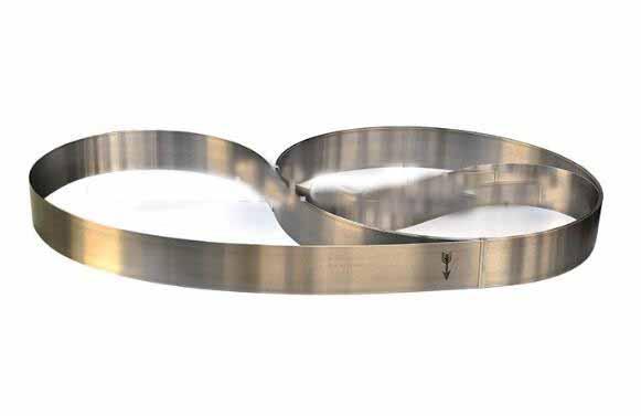 custom size splitting band saw blade