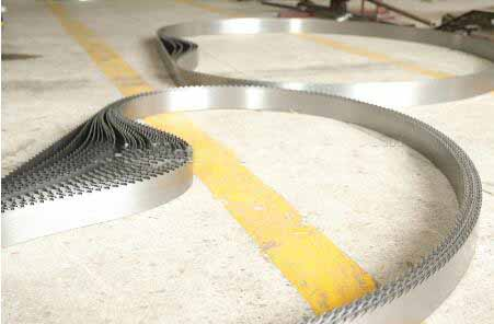 customized length carbon band saw blade