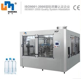 XGF24-24-8 ISO9001 mineral water filling sealing machine