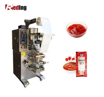 Stainless Automatic Tomato Sauce Ketchup Sachet Packaging Machine