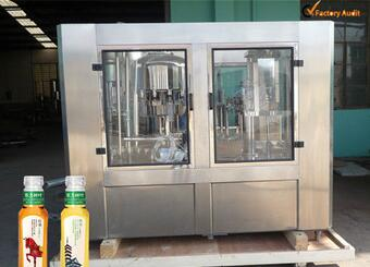 CGFR80-80-20 Juice/Tea Hot Filling Line/Liquid Filling Machine