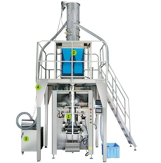 4KW High quality hot sale high-speed pillow packing machine