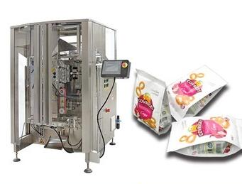 VT52A 4 edges sealing packing machine with 14 heads combination weigher