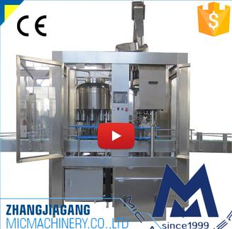 MIC 18 1 380V 50Hz Glass bottle automatic oil filling machine