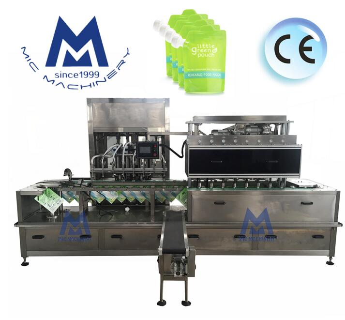 MIC-ZF12 automatic pouch filling machine for liquid and paste