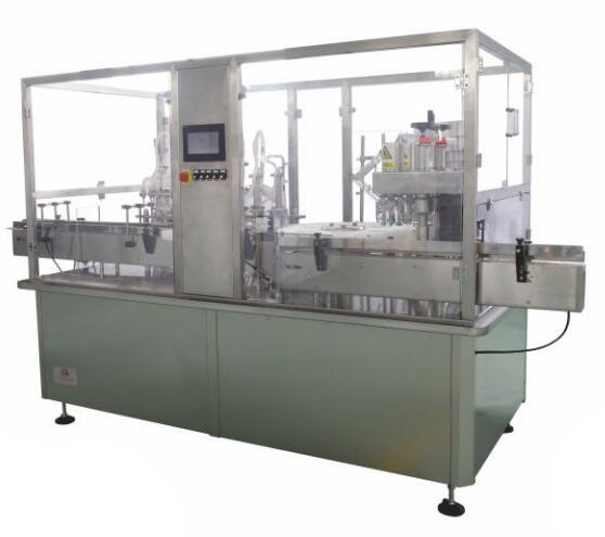 SGGZ Automatic Glass Bottle Filling Capping Labeling Machine Production Line